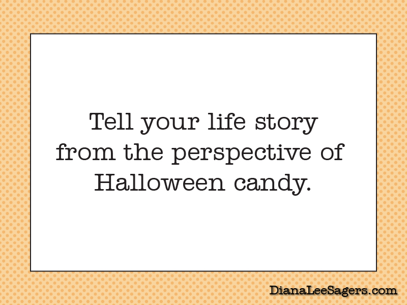 Tell your life story from the perspective of Halloween candy
